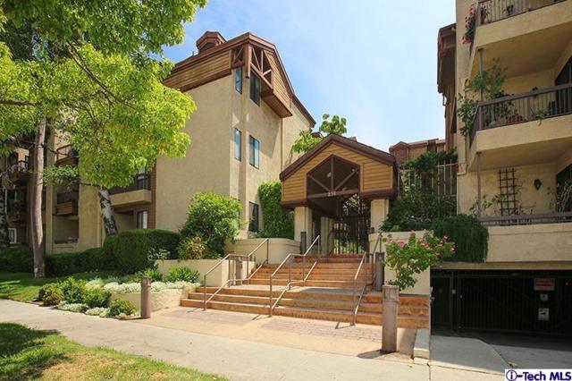 236 N Louise Street #302, Glendale, CA 91206 (#319002037) :: TruLine Realty