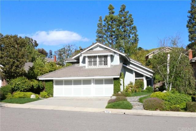712 Clear Haven Drive, Oak Park, CA 91377 (#SR19112417) :: Golden Palm Properties