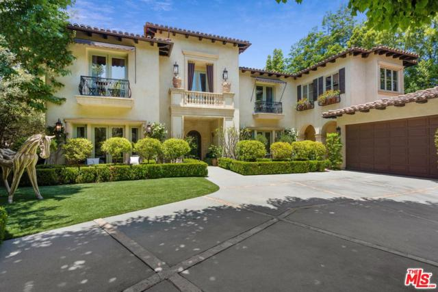 12094 Summit Circle, Beverly Hills, CA 90210 (#19476836) :: Golden Palm Properties