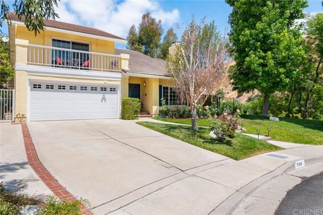 7169 Castle Peak Drive, West Hills, CA 91307 (#SR19139310) :: The Fineman Suarez Team