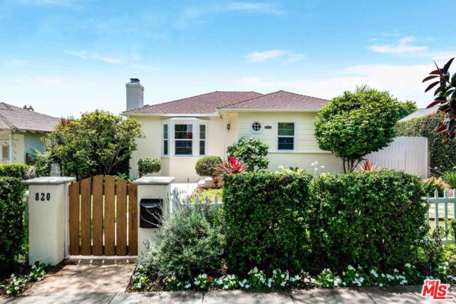 820 Yale Street, Santa Monica, CA 90403 (#19478118) :: Lydia Gable Realty Group
