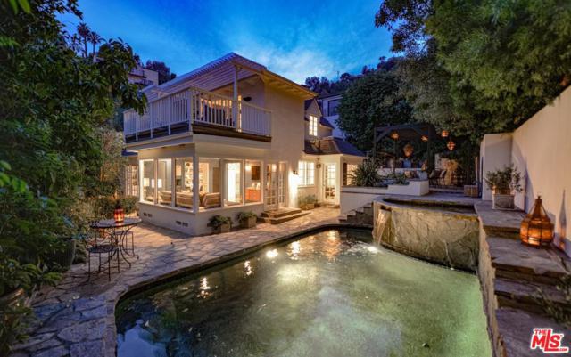 1610 N Kings Road, Los Angeles (City), CA 90069 (#19478322) :: TruLine Realty