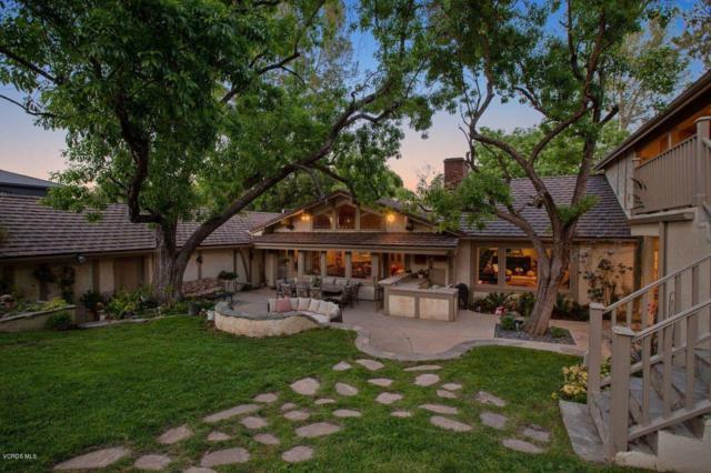 5287 Round Meadow Road, Hidden Hills, CA 91302 (#219007362) :: Golden Palm Properties