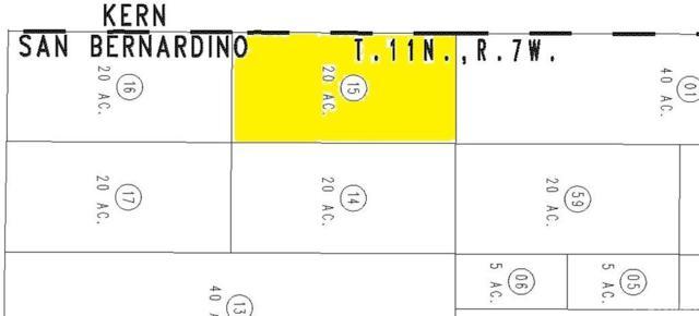 0 County Line, Boron, CA  (#SR19098506) :: Fred Howard Real Estate Team
