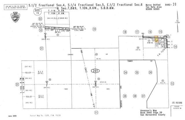 0 On Hwy. 58 And West Of Hwy. 395, Kramer Junction, CA  (#SR19145365) :: The Pratt Group