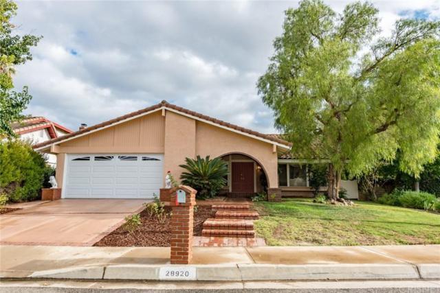 28920 Allman Street, Agoura Hills, CA 91301 (#SR19144009) :: Golden Palm Properties