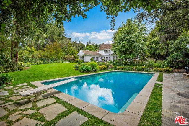 4161 High Valley Road, Encino, CA 91436 (#19481596) :: Golden Palm Properties