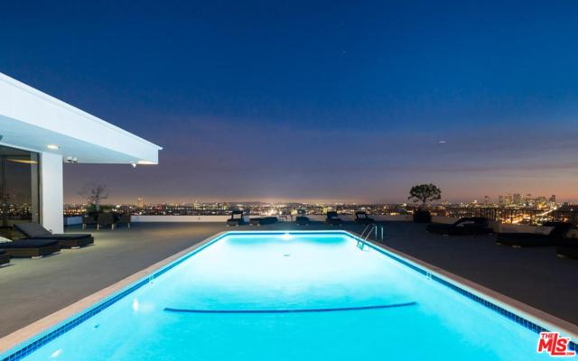 1100 Alta Loma Road #1405, West Hollywood, CA 90069 (#19481622) :: Golden Palm Properties