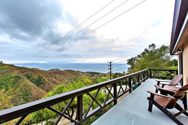 4355 Ocean View Drive, Malibu, CA 90265 (#219007832) :: Golden Palm Properties
