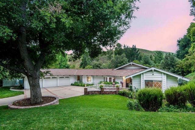 4011 Skelton Canyon Circle, Westlake Village, CA 91362 (#219008051) :: The Parsons Team
