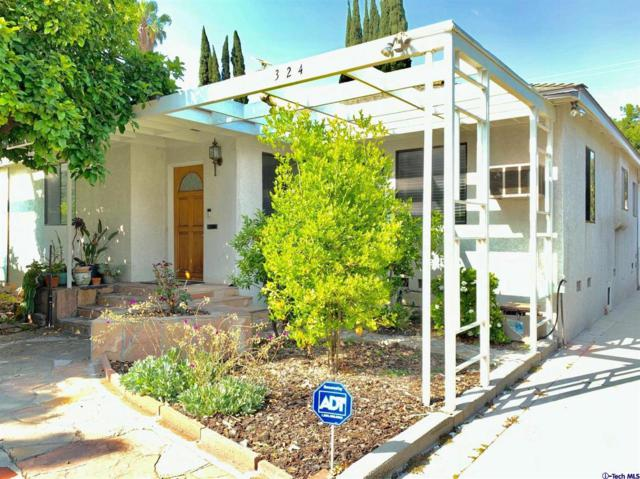 324 N Beachwood Drive, Burbank, CA 91506 (#319002618) :: The Agency
