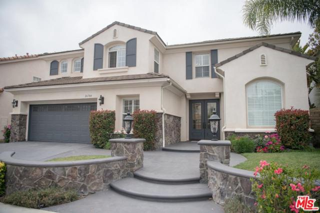 26784 Wyatt Lane, Stevenson Ranch, CA 91381 (#19482128) :: Paris and Connor MacIvor