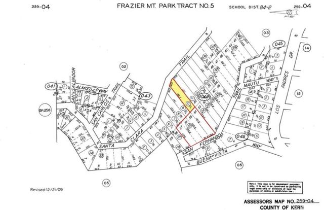 26297 On Santa Clara Trail And San Fernando Trails, Frazier Park, CA 93225 (#SR19155517) :: Golden Palm Properties