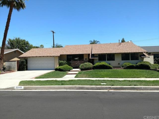 22149 Burton Street, Canoga Park, CA 91304 (#SR19162352) :: Randy Plaice and Associates