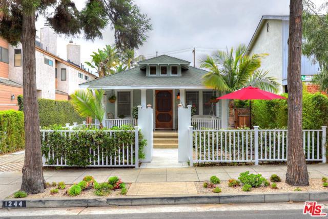 1244 23RD Street, Santa Monica, CA 90404 (#19488198) :: The Parsons Team