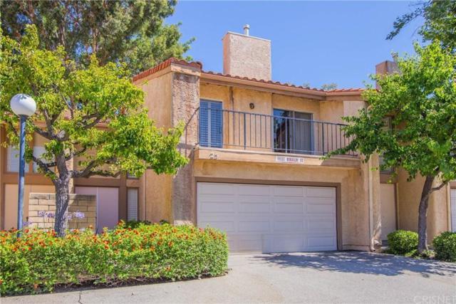 19551 Rinaldi Street #25, PORTER RANCH, CA 91326 (#SR19166325) :: The Agency