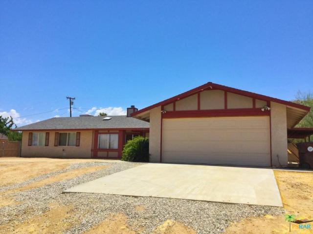 61045 Navajo Trails, Joshua Tree, CA 92252 (#19488136PS) :: Randy Plaice and Associates