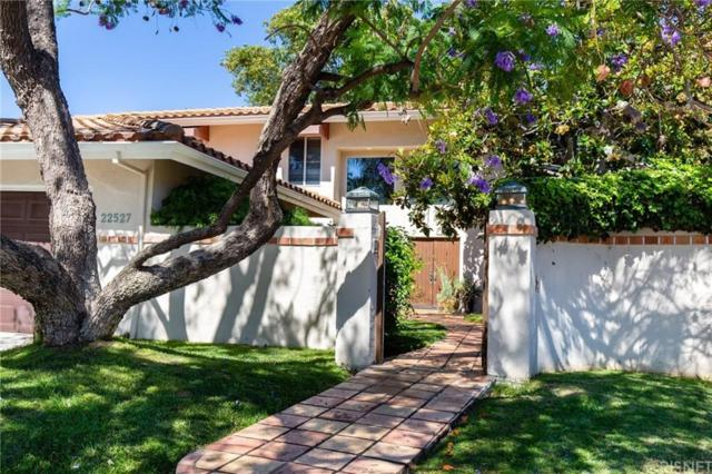 22527 Waterbury Street, Woodland Hills, CA 91364 (#SR19166690) :: Randy Plaice and Associates
