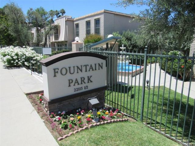 6031 Fountain Park Lane #6, Woodland Hills, CA 91367 (#SR19164377) :: Randy Plaice and Associates