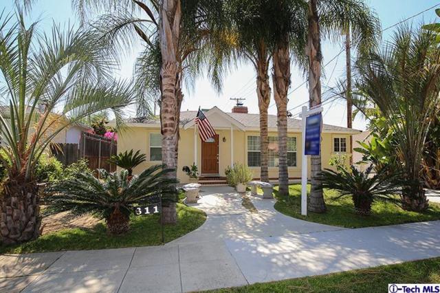 611 S Griffith Park Drive, Burbank, CA 91506 (#319002569) :: The Agency