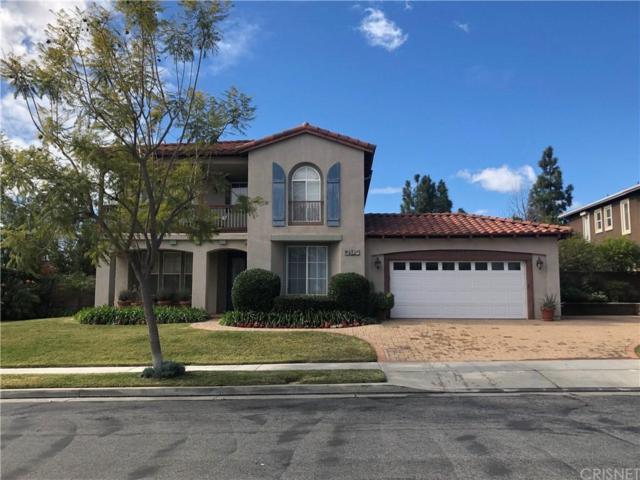 10341 Edgebrook Way, PORTER RANCH, CA 91326 (#SR19168269) :: The Agency