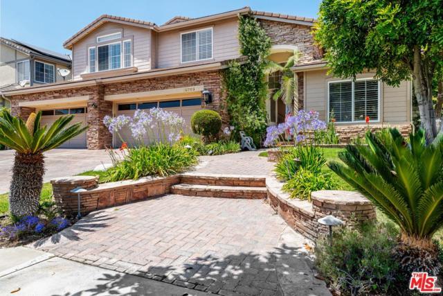 18783 Maplewood Lane, Northridge, CA 91326 (#19489926) :: The Agency