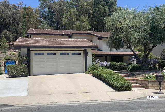 2359 Silver Spring Drive, Westlake Village, CA 91361 (#219008901) :: The Agency