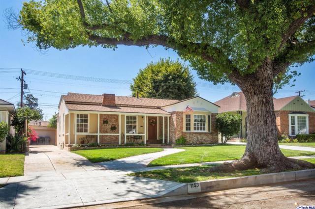 1153 Norton Avenue, Glendale, CA 91202 (#319002736) :: TruLine Realty