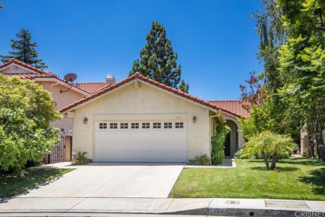 19764 Crystal Ridge Lane, PORTER RANCH, CA 91326 (#SR19168954) :: The Agency