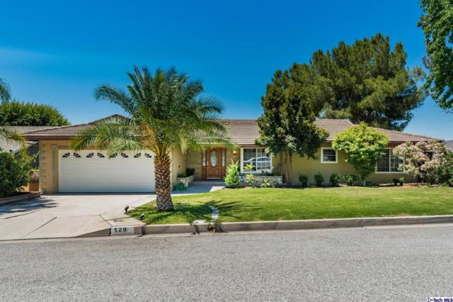 520 Meadows Drive, Glendale, CA 91202 (#319002843) :: The Parsons Team