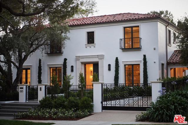 613 N Sierra Drive, Beverly Hills, CA 90210 (#19491188) :: The Agency
