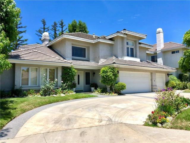 18823 Willowtree Lane, PORTER RANCH, CA 91326 (#SR19172896) :: The Agency
