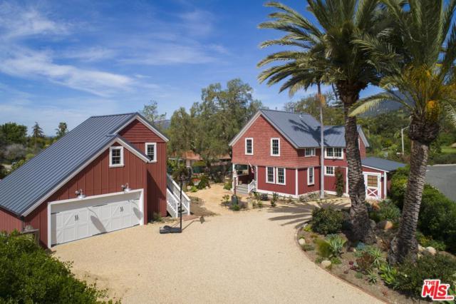 1189 N Ontare Road, Santa Barbara, CA 93105 (#19491604) :: Golden Palm Properties
