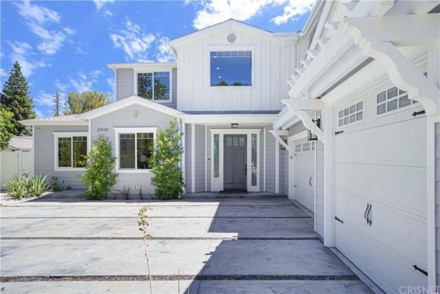 22938 Hatteras Street, Woodland Hills, CA 91367 (#SR19174984) :: The Agency