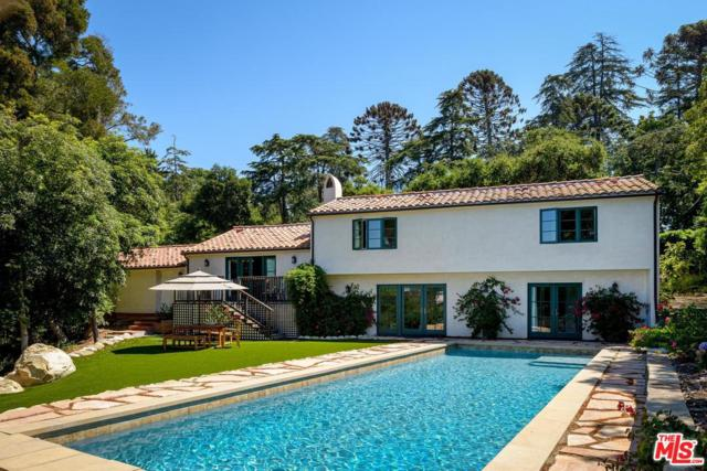 1201 Cima Linda Lane, Santa Barbara, CA 93108 (#19499400) :: Paris and Connor MacIvor