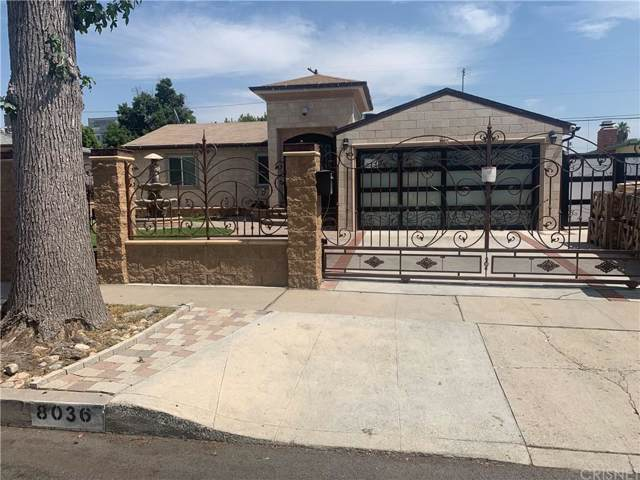 8036 Matilija Avenue, Panorama City, CA 91402 (#SR19216844) :: The Agency