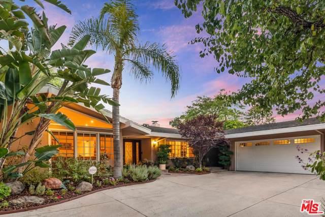 15732 High Knoll Road, Encino, CA 91436 (#19509034) :: The Agency