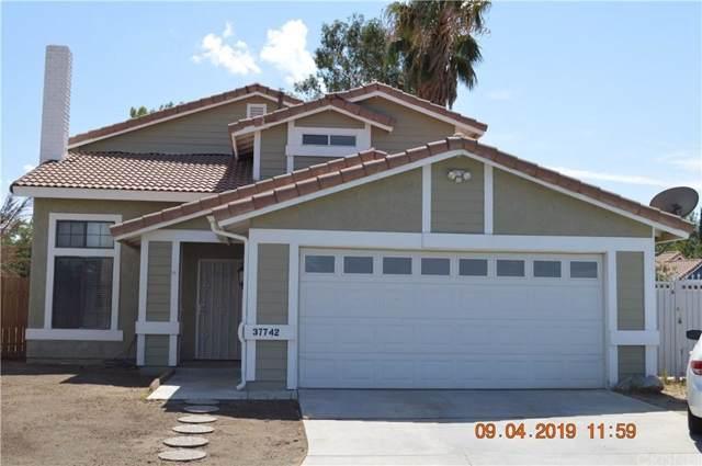 37742 Chaparral Court, Palmdale, CA 93552 (#SR19210552) :: Golden Palm Properties