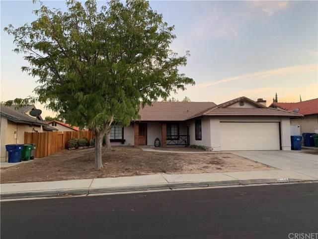 2144 Clearwater Avenue, Palmdale, CA 93551 (#SR19220180) :: TruLine Realty