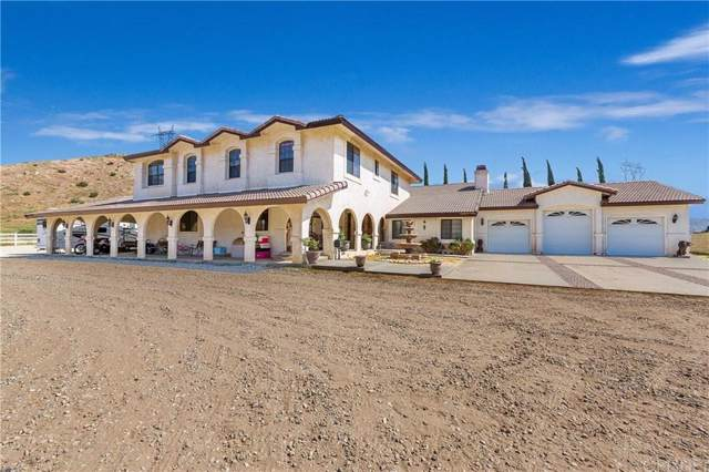 770 Carson Mesa Road, Acton, CA 93550 (#SR19220528) :: The Agency