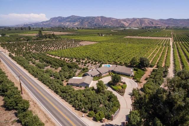13922 Foothill Road, Santa Paula, CA 93060 (#219011571) :: Randy Plaice and Associates