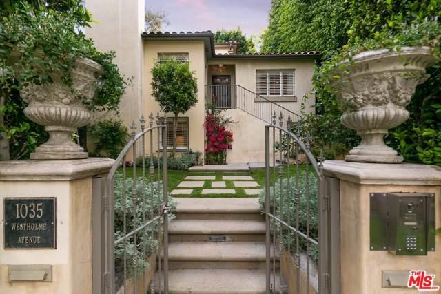 1035 Westholme Avenue, Los Angeles (City), CA 90024 (MLS #19512182) :: Bennion Deville Homes