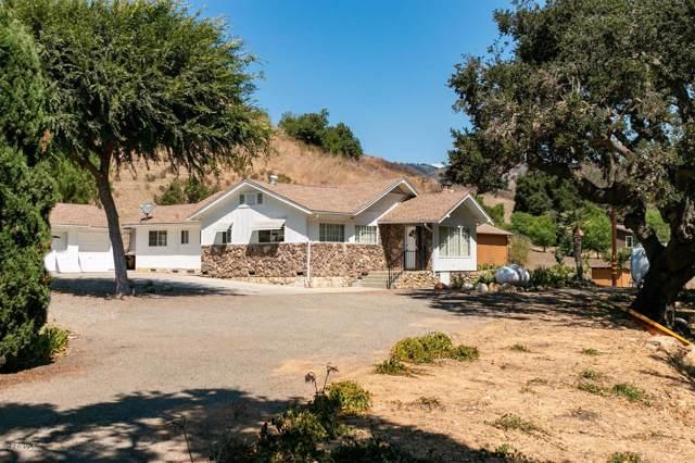 5997 Wheeler Canyon Road, Santa Paula, CA 93060 (#219011702) :: Randy Plaice and Associates