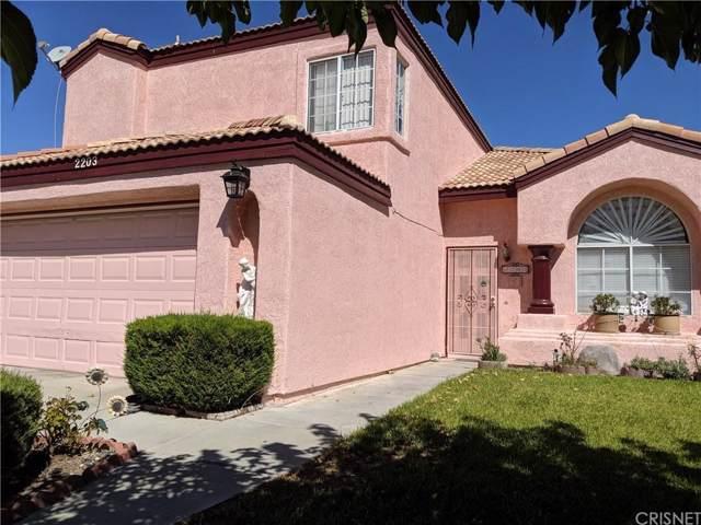 2203 W Avenue J4, Lancaster, CA 93536 (#SR19224916) :: Randy Plaice and Associates
