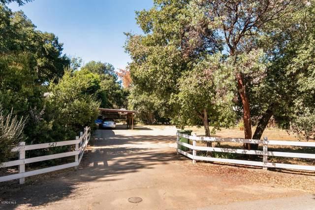 547 Pala Drive, Ojai, CA 93023 (#219011771) :: DSCVR Properties - Keller Williams