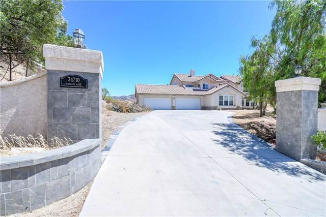 34710 Caprock Road, Agua Dulce, CA 91390 (#SR19235284) :: Lydia Gable Realty Group