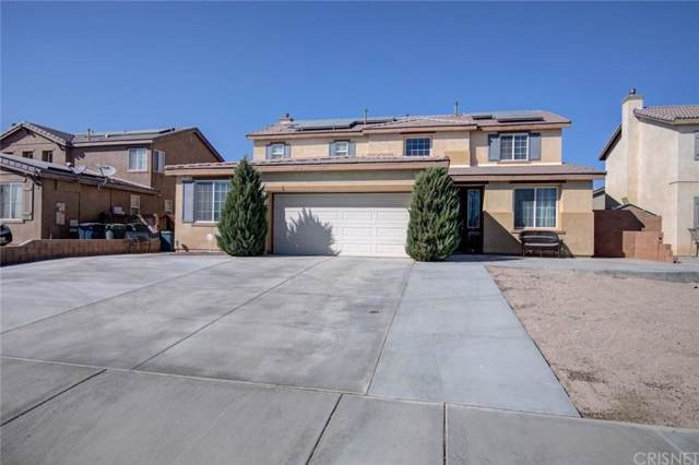 2411 Crimson Avenue, Rosamond, CA 93560 (#SR19237645) :: Lydia Gable Realty Group