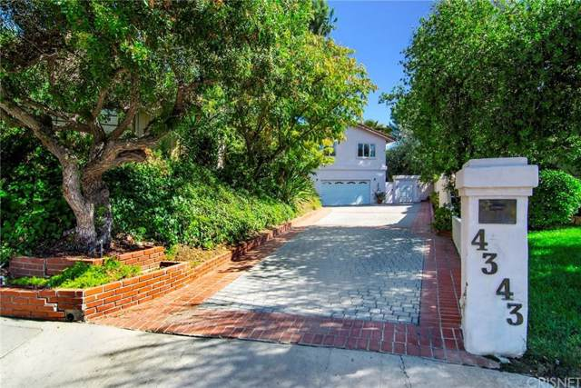 4343 Reyes Drive, Tarzana, CA 91356 (#SR19233434) :: Golden Palm Properties
