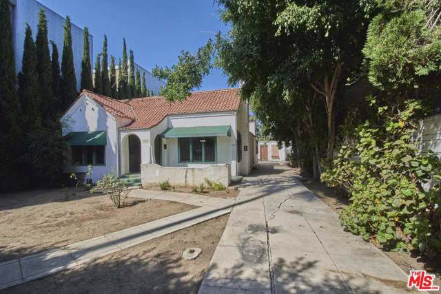 1019 N Orange Grove Avenue, West Hollywood, CA 90046 (#19519816) :: Golden Palm Properties