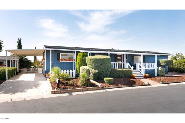 166 Phyllis Way #166, Newbury Park, CA 91320 (#219012600) :: Lydia Gable Realty Group
